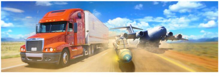 Транспортные перевозки в страны Азии